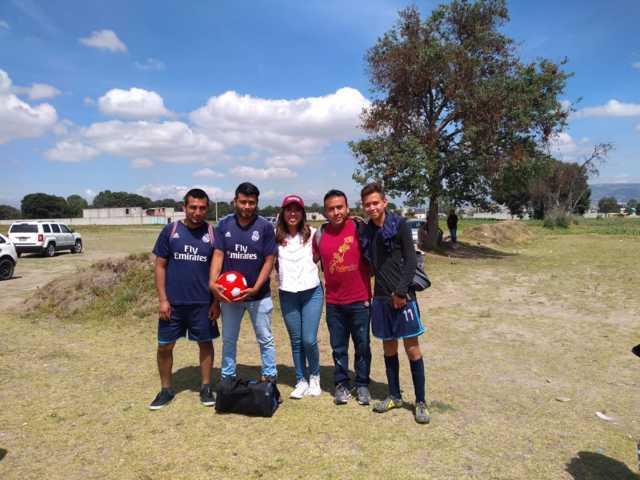 Con más  deportivos evitamos que los jóvenes caigan en las drogas: María Félix
