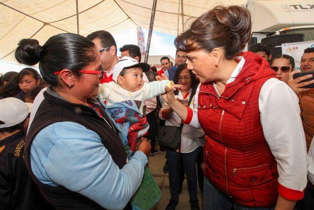 "Encabeza Sandra Chávez ""Ruta por tu Salud 2020"" en Terrenate"