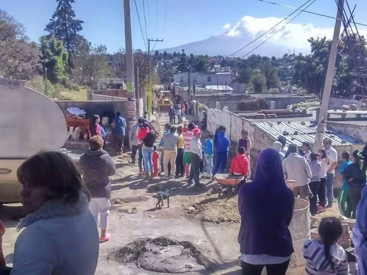Muere albañil sepultado en obra del Ayuntamiento de Totolac