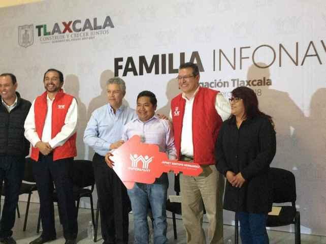 Tlaxcala recibirá al menos dos mil 800 créditos para vivienda
