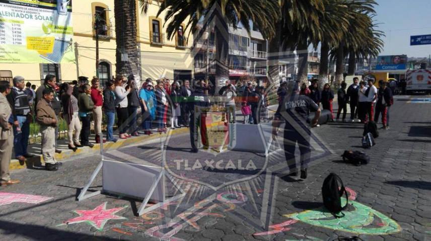 La CES y el Ayuntamiento de Amaxac realizaron la 4ta Semana de Prevención del Delito