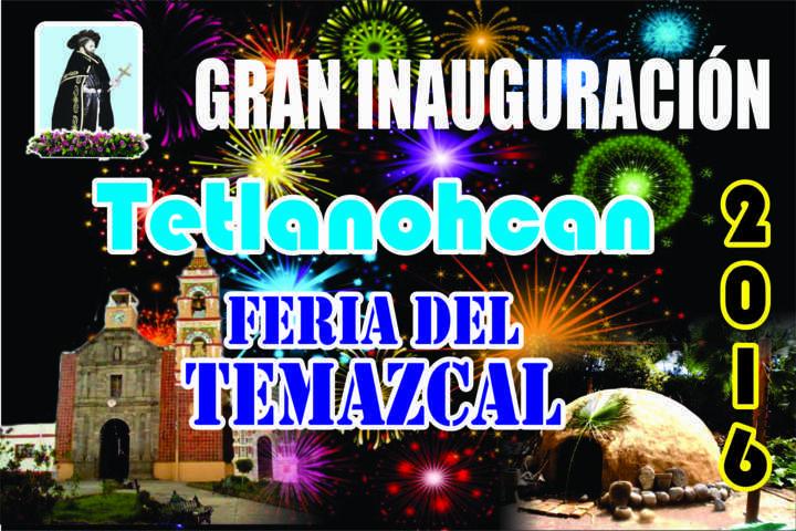 Revelan programa de Feria del Temazcal 2016 de Tetlanohcan
