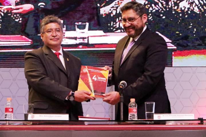 Presentó informe de actividades Rector de la UAT