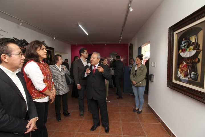 Inaugura Sandra Chávez Exposición Y Diálogo De Talavera De San Pablo Del Monte