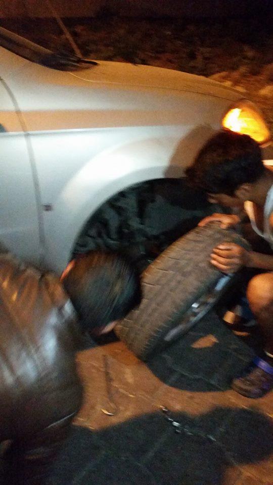 Banda de hampones de autopartes operan en taxi de Puebla