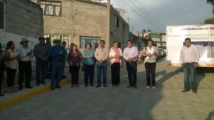 A 40 años tres comunidades se les mejora su infraestructura: Pérez Briones