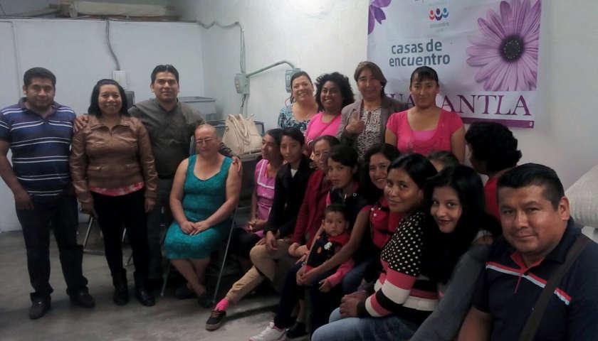 Visita Garrido Cruz casa encuentro en Huamantla