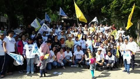 Exitosa jornada masiva en Tlaxcala a favor de Ricardo Anaya