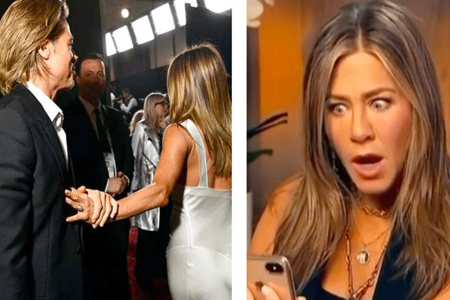 Sospechan posible romance entre Jennifer Aniston y Brad Pitt