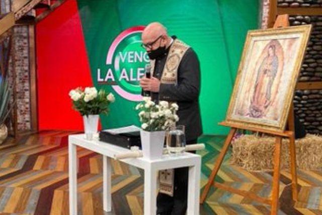 Productor de Venga la Alegría manda a clérigo a exorcizar el foro por miedo a una brujería