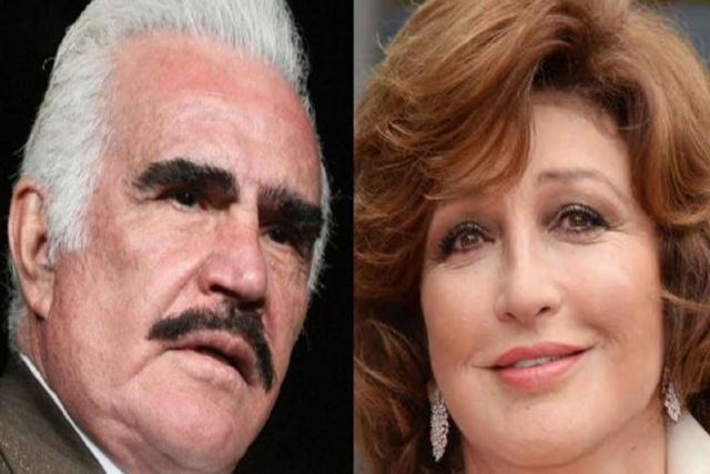 Vicente Fernández acepto ser un mujeriego y tener un romance con Angélica María