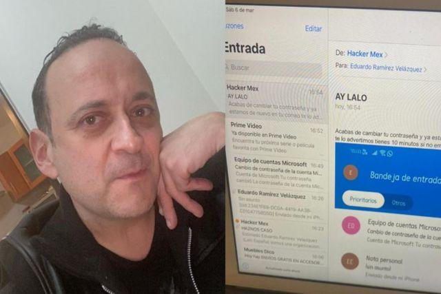 Lalo España es amenazado por delincuentes; pide ayuda