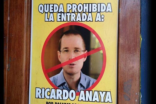 Centro nocturno prohíbe entrada a Anaya por pasarse con las caguamitas