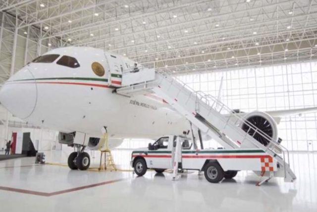 AMLO ofrece a Aeroméxico el avión presidencial para eventos