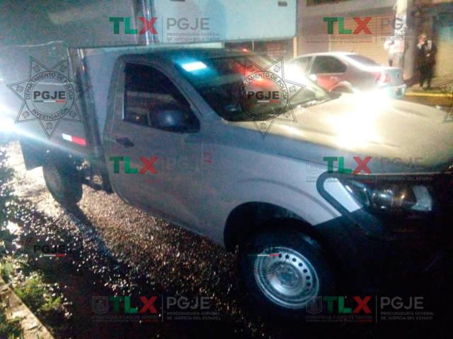 Recupera PGJE vehículo con reporte de robo en Puebla