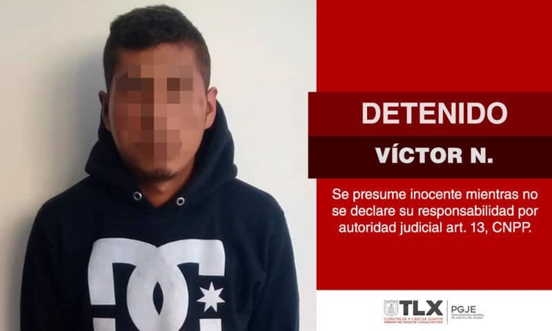 Rescata PGJE a imputado en Contla De Juan Cuamatzi