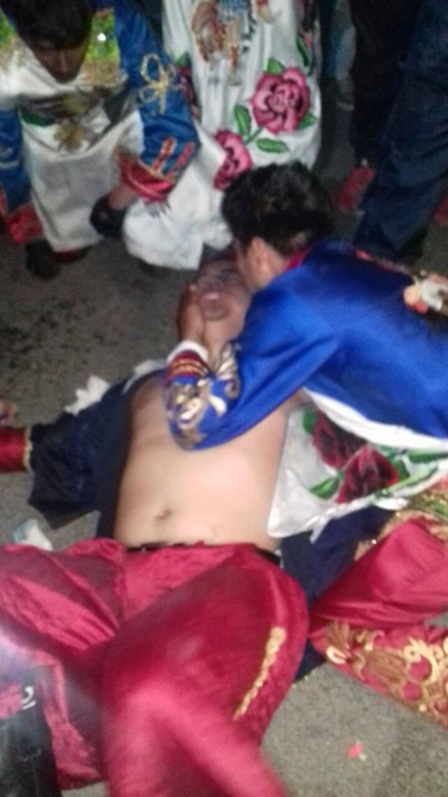 Carnaval de Nativitas deja 4 lesionados; explota una carabina