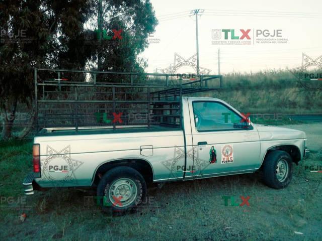 Localiza PGJE camioneta con reporte de robo en Puebla