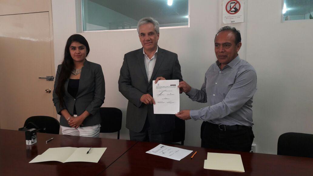 Ayuntamiento y SECTE signan convenio para mantenimiento de semáforos