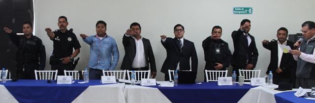 Instala Gobierno de Tepetitla Consejo Municipal de Seguridad Pública