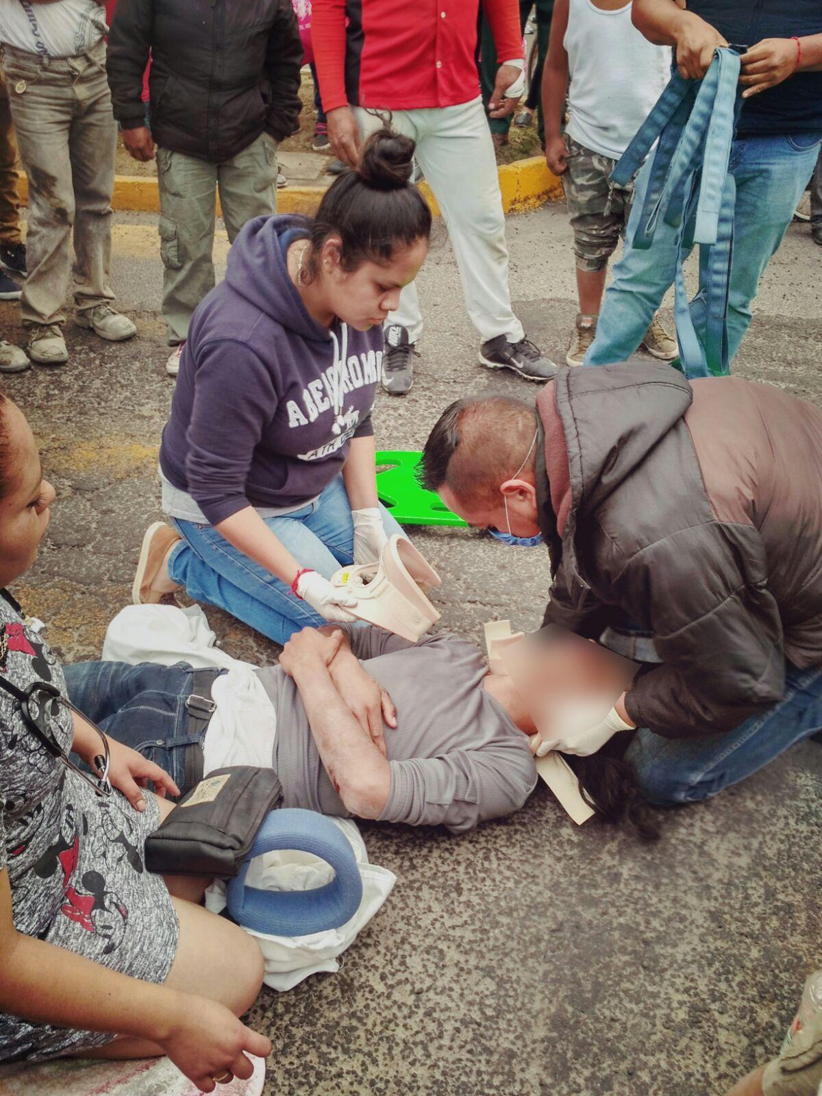Pobladores son abandonados por alcalde de Muñoz