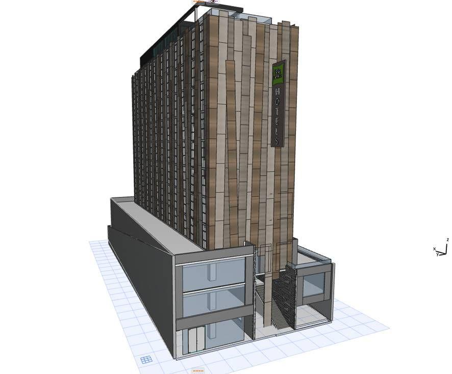 Se construye en Chile el 1er. edificio que purifica el aire y descontamina
