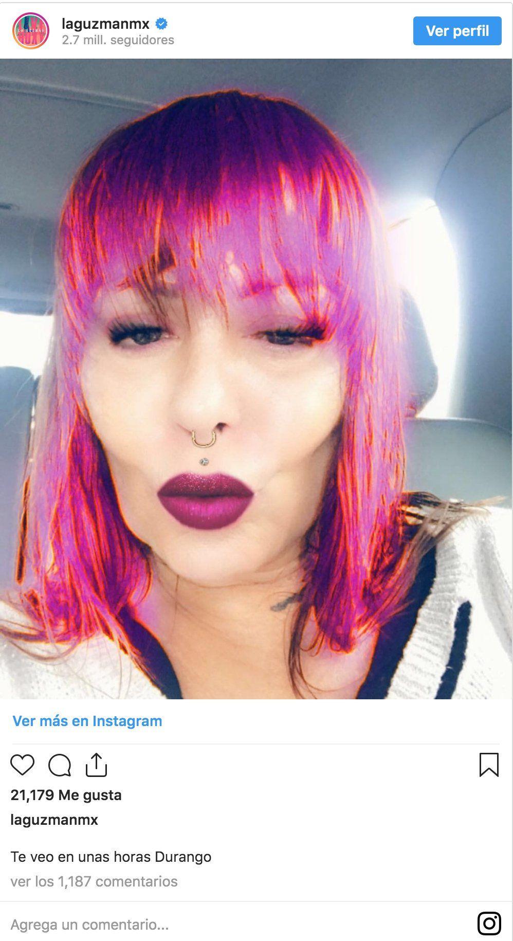 Alejandra Guzmán deja boquiabiertos a sus fans por aterrador rostro