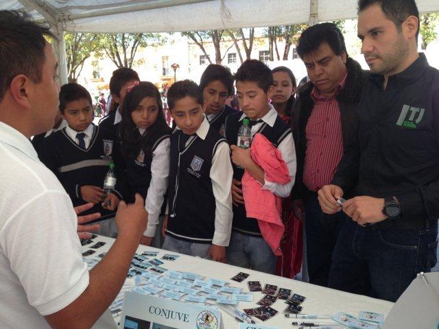 Totolac, presente en la Sexta Edición de Expo juventudes