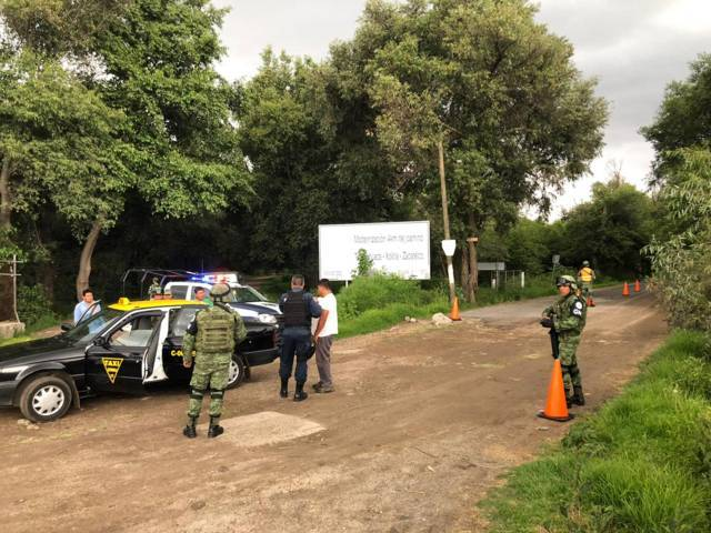 La Guardia Nacional entra a Zacatelco a reforzar la seguridad