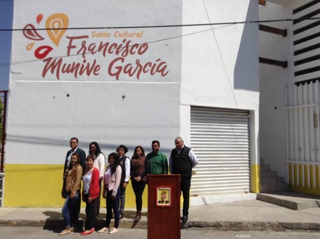 Inaugura Xicohtzinco Salón Cultural