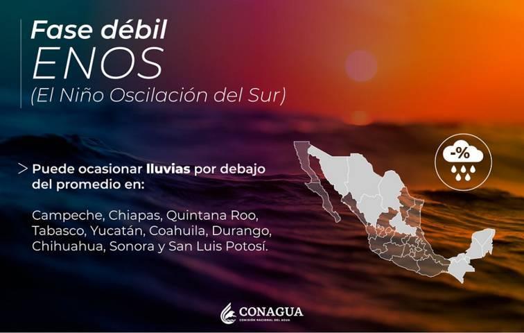 Se esperan lluvias para el dia de hoy en Tlaxcala