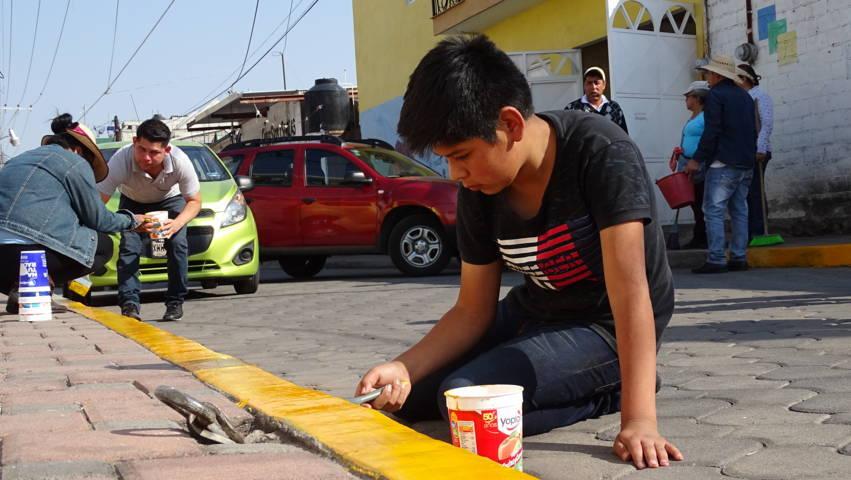Badillo Jaramillo puso en marcha la campaña Por Un Xicohtzinco Limpio