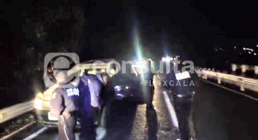 Reportaron autoridades balacera y persecución en Ixtacuixtla