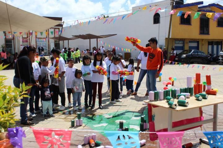 Realiza el SMDIF de Tepetitla 1er. Rally Deportivo y Ecológico