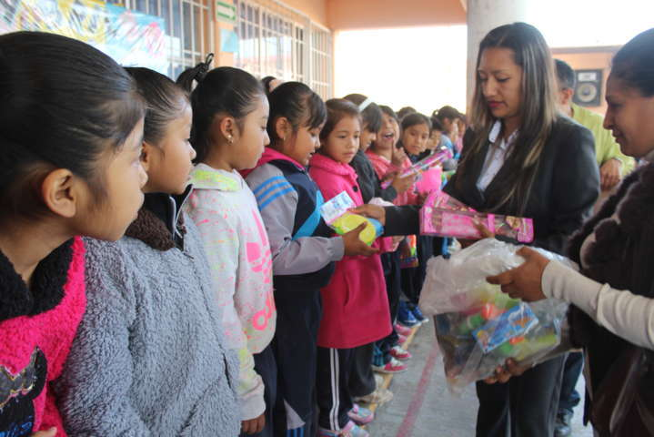 Presidenta del SMDIF de Lardizábal inauguró desayunador escolar