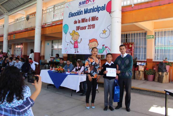 Eligen a Pablo Aquino Reyes como niño DIFusor de Tepetitla de Lardizábal