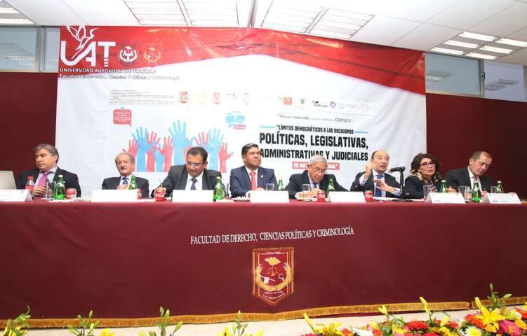 """Llevó a cabo la UAT el """"XIX Curso anual de apoyo académico al Posgrado en Derecho de la UNAM"""""""