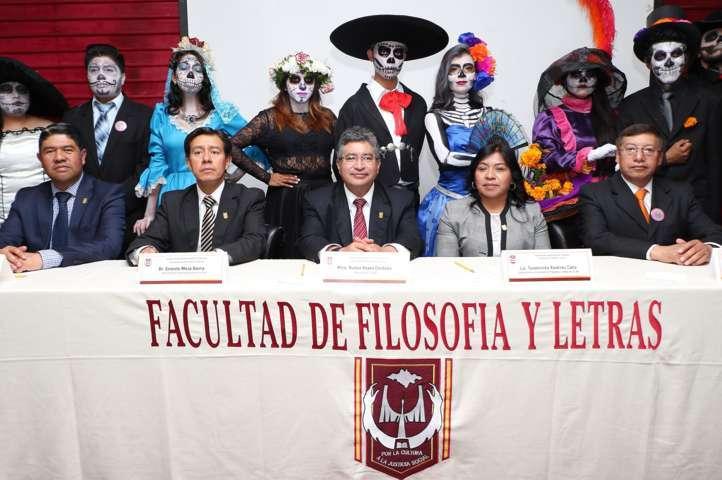 "Inaugura Rector de la UAT el XXVIII Festival ""La muerte tiene permiso"""