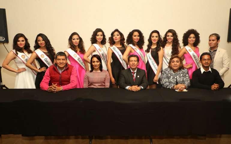 """Presentan a aspirantes de """"Nuestra Belleza Universitaria 2016"""""""