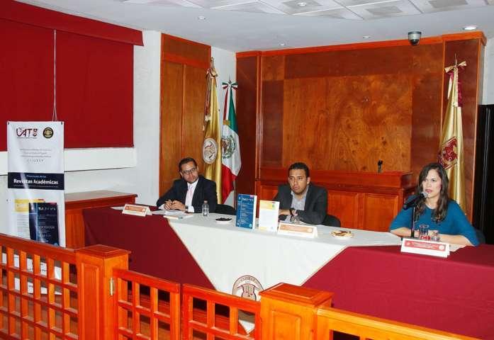 Presentaron en el CIJUREP de la UAT revistas especializadas en Ciencias Sociales de la BUAP