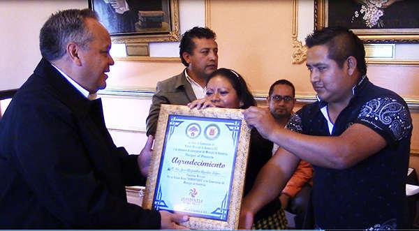 Comerciantes de Huamantla reconocen apoyo de su alcalde