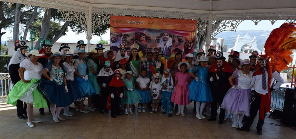 Con presentación de camadas inició el Carnaval en Panotla