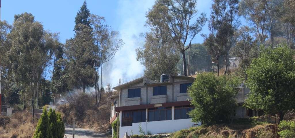 De enero a la fecha Protección Civil de Tepetitla ha atendido 70 incendios