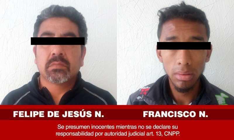 Capturan a dos hombres que se dedicaban al robo de vehículos en Xaloztoc
