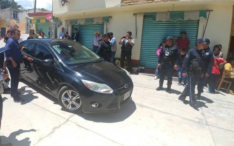Tras negociar con vecinos ponen a disposición a presunto ladrón en Panotla