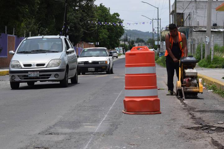 Inicia SECODUVI ampliación de la red de drenaje y colectores en Panotla