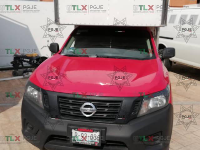 Frustran robo de camioneta en Calpulalpan