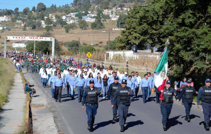 Rivera Mora conmemora el CVIII aniversario de la Revolución Mexicana