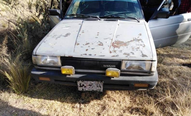 Policía Estatal asegura a una persona,  un arma de fuego y un vehículo en Tetla