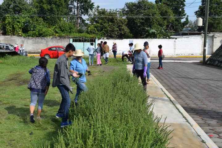Se suma grupo MANOS QUE AYUDAN a Jornadas de Limpieza en Xicohtzinco
